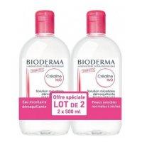 BIODERMA - Créaline H2O lot de 2   500ml